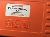 Picture framing kit