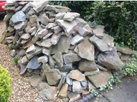 Pennant stone for ideal for walls and extensions etc