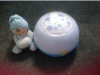 Chicco baby night light blue