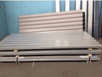 2200mm/3000mm/4000mm x 1100mm Box Profile Sheeting Ideal for Garages/Sheds/Barns/Roof Repairs