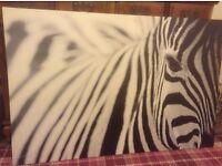IKEA Zebra picture.