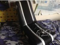 X Rocker Gaming Chair - power lead and headphone jack included