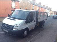 Very clean ver looked after ford transit tipper 100/350 2006/56