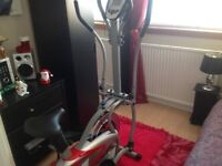 For Sale. Cross Trainer / Exercise Cycle. Bought last year. Rarely used. £25.00 final price.