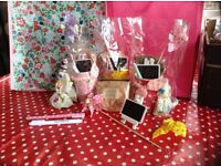 Young vintage gifts/wedding/party favours