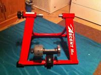 ascent mag bike trainer and block trainer