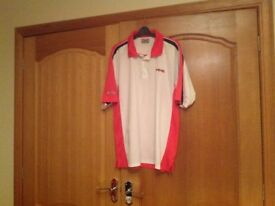 Ping men's collared golf tee shirt Size large
