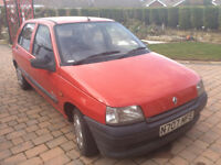 Renault Clio: 1996 For Sale