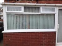 White uPVC Window