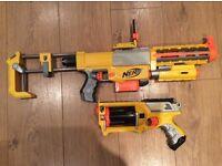 NERF Recon CS-6 and Maverick Rev-6 foam dart guns
