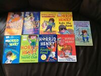 Selection of Horrid Henry books