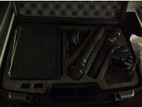 VHF twin radio mics