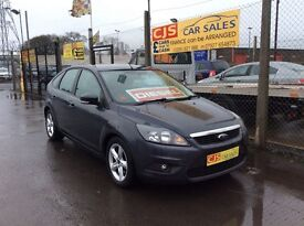 Ford Focus zetec 1800 tdci diesel 2009 80000 fsh full year mot fully serviced nice clean tidy car