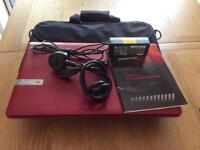 Packard Bell laptop and bag
