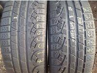 225/50/17- 225/55/17-winter tyres sets & pairs/ open 7 days a week unt 90 fleet road ig117bg