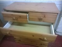 Chest of Drawers -- 4+2 (Pine)