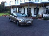 53 TOYOTA AVENSIS T3-X GOLD COLOUR WITH SERVICE HISTORY AND GOOD MILEAGE.