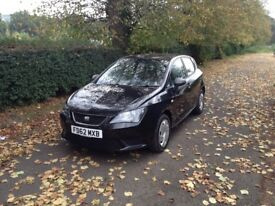 Seat Ibiza diesel tdi cr , 2012 , 77k full service history, excellent condition, £20 tax,