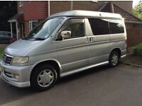 Mazda Bongo Friendee 2.0L Campervan- Fully converted, automatic, excellent rust-free condition.