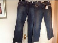NEW next jeans size 12, 2 pairs