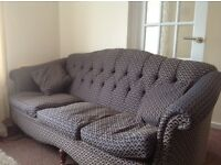 2 x Greensmith Fine Upholstery 3 seater sofas