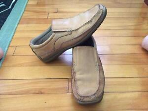 MENS SKECHERS LEATHER SLIP ONS SHOES West Island Greater Montréal image 3