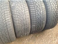 Winter tyres 225/45/17-225/50/17-225/55/17- winter tyres sets & pairs open on Sunday's