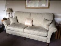 Bridgecraft Florence Grand Sofa and Armchair. Immaculate Condition