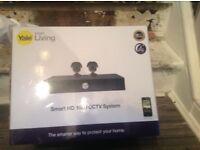 smart HD 1080 ccctv system camras YALE