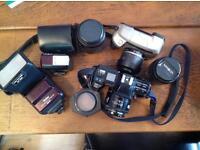 Minolta Camera Collection