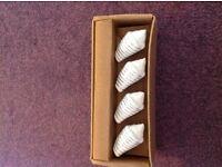 Set of 4 Shell Shaped Door Knobs