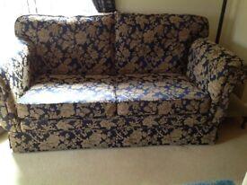 Navy & Gold sofa Peter Guild