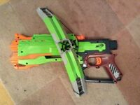 Nerf Zombie strike cross bow gun