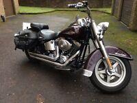 Harley Davidson FLSTC Heritage Softail Classic 2006