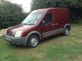 2003 FORD TRANSIT CONNECT VAN - LONG WHEEL BASE - HIGH TOP