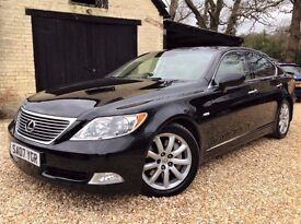 2007 Lexus LS460 SE - New MOT and 8 Stamp Service History - Immaculate Order - HPi Clear - Hampshire