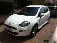 Fiat Punto 2012 1.4L 5dr White