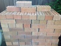 Facing bricks for sale (new, unused, approximately 330)