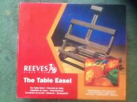 Brand new Reeves table Easel