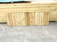 closeboard fencing panels .6x6 6x5 6x4 6x3 6x2 sizes available.