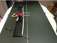 Butterfly table tennis table topper and accessories