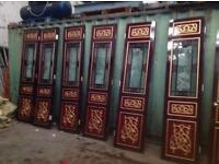 Solid wood Chinese doors