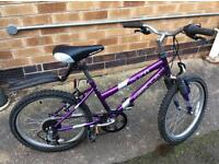 Girls Apollo Bike, sizes as on last pictures
