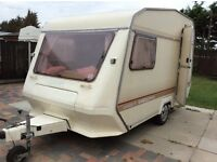 1980s two berth caravan nice clean condition Abby Excecutive 360