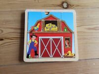 Wooden puzzle, used condition but still lots of life in it!wooden puzzle,