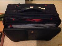 Wenger black wheeled pull along laptop case