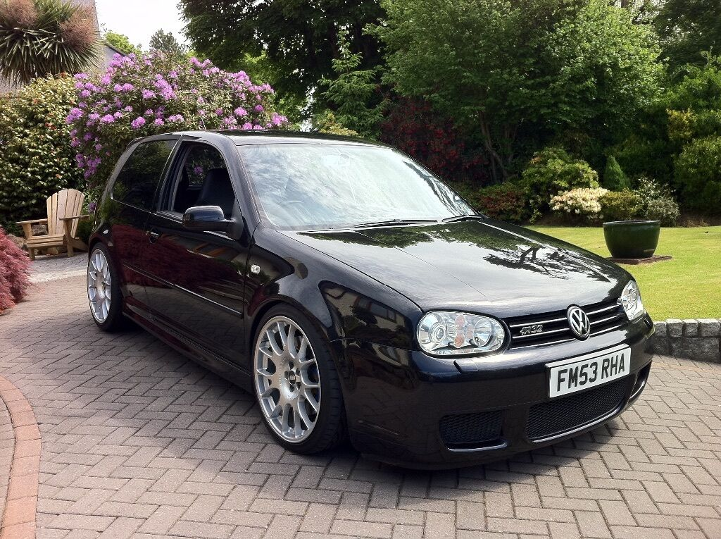 for sale vw golf 3 2 r32 mk4 black 3dr in truro. Black Bedroom Furniture Sets. Home Design Ideas