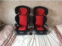 Graco Child Booster Seats With Backs.