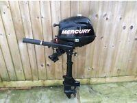 Mercury 2.5hp outboard motor 4 stroke