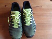 Men's asics running shoes size euro 48 feels like uk 12